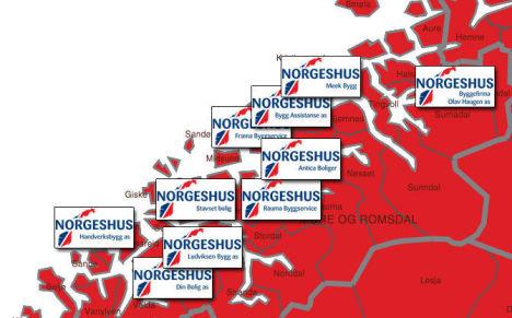 Norgeshus fester grepet om Møre og Romsdal
